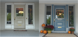 Hadley front door makeover