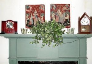 mantel photo from Hadley Collector
