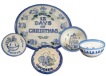 Hadley Pottery Christmas Stoneware