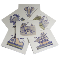 New Hadley Pottery Note Cards On Sale