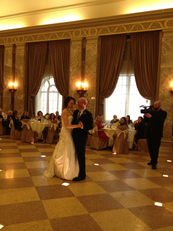 Hadley Owner Andy Dances with Daughter Elizabeth